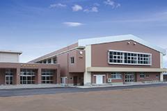 森田中学校 体育館