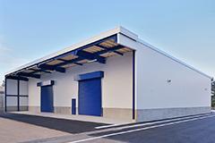 新中村化学工業(株) 一般倉庫新築工事および屋外貯蔵所