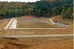 島川ため池造成工事