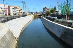 流域治水対策河川工事